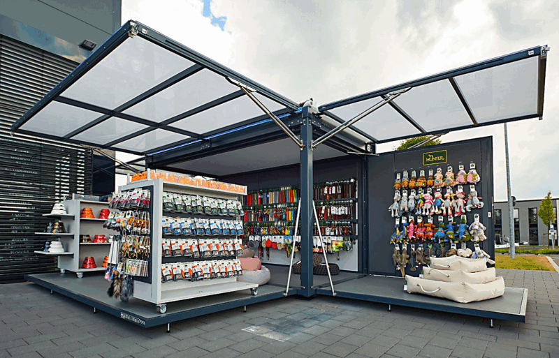 Pop-up Store, mobil