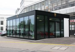 Verkaufspavillon | CH-8302 Kloten - 86 qm, Autohaus
